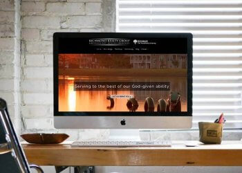 real estate website design and management
