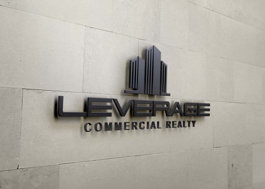 custom commercial real estate logo design and branding