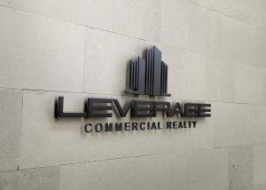 custom commercial real estate logo design and branding
