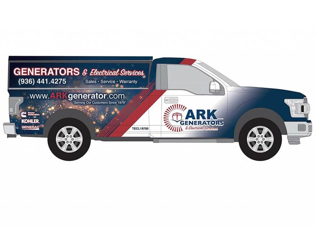commercial vehicle truck wrap design
