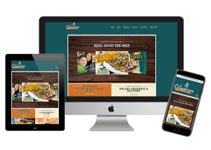 restaurant website design and website management