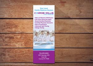 medical marketing design logos, branding, and printed marketing material
