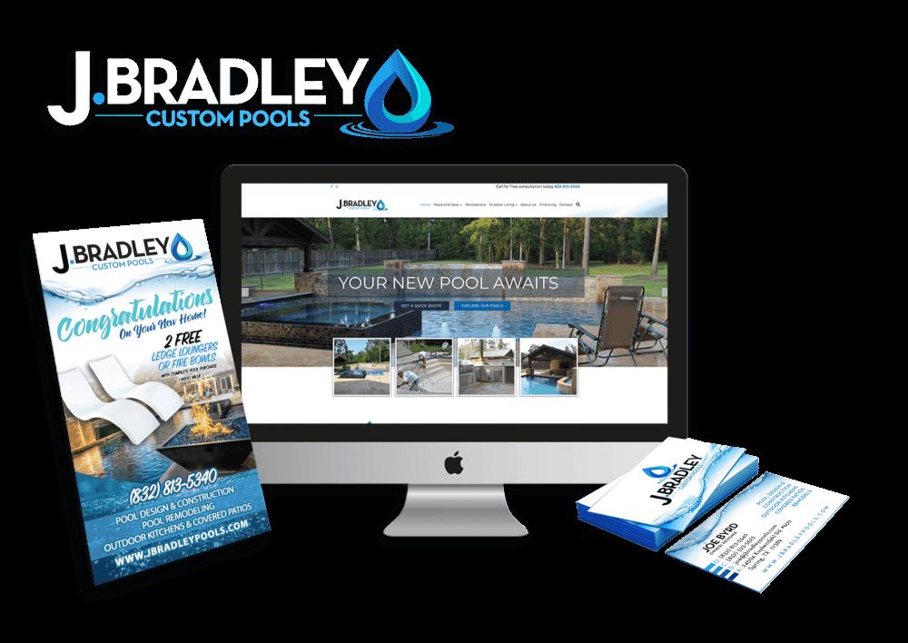 Custom Pool Company Marketing