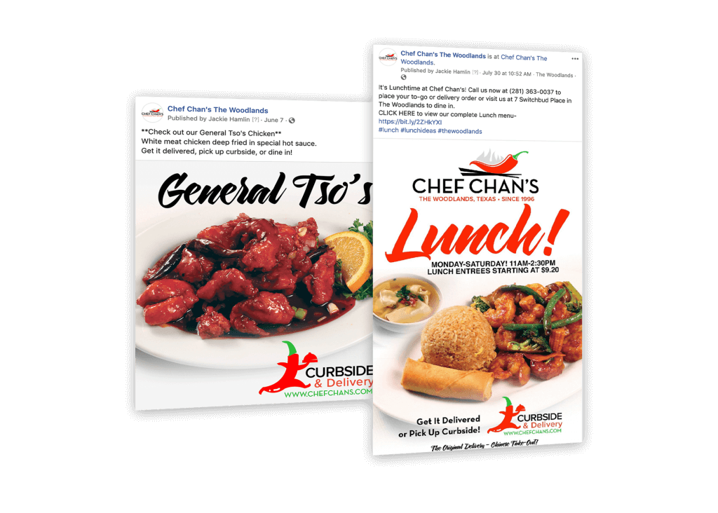 local restaurant social media marketing and promotions