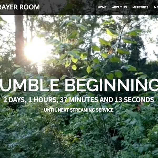Web Design | The Woodlands, TX<br /> The Prayer Room Church